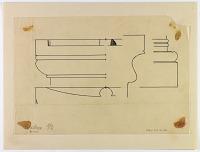 view D-1171: Kangavar. Profile of column bases.IAE, fig.381 digital asset: Kangavar (Iran): Seleucid Temple of Anahita: Profile of Column Bases [drawing]
