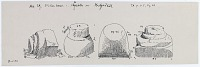 view D-1175: Hajjiabad. Column bases.TA, fig.29 digital asset: Hajjiabad (Iran): Measured Sketch of Column Bases [drawing]