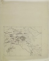 view D-1244: Map. Tracing of area Batum south to Susa, Ankara east to Hamadan. Includes Assyrian (?) and Greek names digital asset: Map Tracing Including several Expedition Itineraries throughout Middle East and Near Eastern East Asia, drawn by Ernst Herzfeld