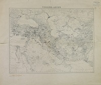 view D-1258: Map of Near Eastern Asia, Annotated by Ernst Herzfeld with Expeditions Itineraries of Jacques de Morgan and Henry Rawlinson digital asset: Map of Near Eastern Asia, Annotated by Ernst Herzfeld with Expeditions Itineraries of Jacques de Morgan and Henry Rawlinson