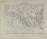 view D-1259: Map of Near Eastern Asia, Annotated by Ernst Herzfeld digital asset: Map of Near Eastern Asia, Annotated by Ernst Herzfeld