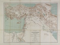 view D-1267d: Map of Near Eastern Asia, Based on H. Kiepert's Map of Turkey, Annotated by Ernst Herzfeld digital asset: Map of Near Eastern Asia, Based on H. Kiepert's Map of Turkey, Annotated by Ernst Herzfeld