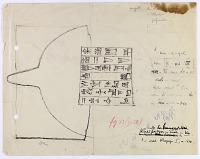 view D-1294: Harsin (Iran): Cuneiform inscription on Bronze Vessel digital asset: Harsin (Iran): Cuneiform inscription on Bronze Vessel [drawing]