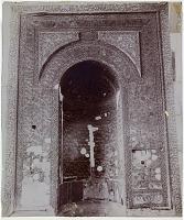 view D-1341: Aleppo (Syria): Madrasa al-Halawiyya: view of Mihrab of Salah al-Din Yusuf II digital asset: Aleppo (Syria): Madrasa al-Halawiyya: view of Mihrab of Salah al-Din Yusuf II [drawing]