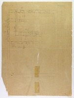 view D-1431: Mashhad (Iran): Unfinished Plan of Rooms digital asset: Mashhad (Iran): Unfinished Plan of Rooms [drawing]