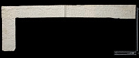 view Sunghur (Iran): Squeeze of Arabic Inscription, in Kufic Script, from Unidentified Gravestone digital asset: Sunghur (Iran): Squeeze of Arabic Inscription, in Kufic Script, from Unidentified Gravestone