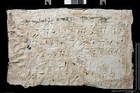 view SQ 15: Naqsh-i Rustam. Lines 19--24, left digital asset: Naqsh-i Rustam (Iran): Squeeze of Inscription, DNb, Old Persian Version, on the Tomb of Darius I