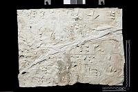 "view SQ 27: Naqsh-i Rustam: print marked. ""Akk. r IVd 16--22"" digital asset: Naqsh-i Rustam (Iran): Squeeze of Inscription, DNb, Akkadian Version, on the Tomb of Darius I"