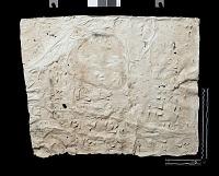 "view SQ 39: Naqsh-i Rustam: print marked. ""bab M. IIIc 11--18"" digital asset: Naqsh-i Rustam (Iran): Squeeze of Inscription, DNb, Akkadian Version, on the Tomb of Darius I"