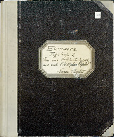 view Ernst Herzfeld Papers, Series 1: Travel Journals; Diary of Two Expeditions From Samarra (Iraq) to Sulaimaniya (Iraq) and to Ctesiphon (Iraq), 1911 digital asset number 1