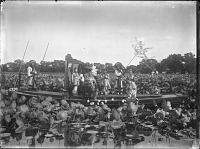 view The Empress Dowager Cixi and attendants on the imperial barge on Zhonghai, Beijing digital asset: The Empress Dowager Cixi and attendants on the imperial barge on Zhonghai, Beijing