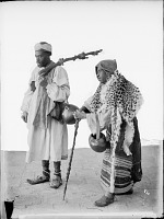 view Portrait of Two Dervishes Carrying a Kashkul, or Beggar's Bowl [graphic] digital asset number 1
