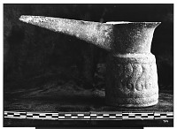 view Khurramabad (Iran): Copper Vessel with Long Spout, Found in Tomb at Gilweran digital asset: Khurramabad (Iran): Copper Vessel with Long Spout, Found in Tomb at Gilweran [graphic]