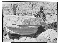 view Kangavar (Iran): Seleucid Temple of Anahita: View of Column Base digital asset: Kangavar (Iran): Seleucid Temple of Anahita: View of Column Base [graphic]