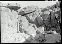 view Naqsh-i Rajab (Iran): Sassanid Rock Reliefs Picturing Shapur I (left) and Middle Persian Inscription of High Priest Kartir (right), Carved into Opposite Sides of a Grottolike Bay at the Foot of the Mountain of Mercy digital asset: Naqsh-i Rajab (Iran): Sassanid Rock Reliefs Picturing Shapur I (left) and Middle Persian Inscription of High Priest Kartir (right), Carved into Opposite Sides of a Grottolike Bay at the Foot of the Mountain of Mercy [graphic]