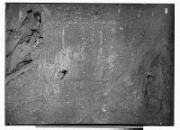 view Sarpul (Iran): Rock Reliefs Depicting Standing Man in front of Horseman digital asset: Sarpul (Iran): Rock Reliefs Depicting Standing Man in front of Horseman, [graphic]