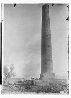 view Vicinity of Sabzavar (Iran): Minaret at Khusrawgird: General View of the Brick Structure digital asset: Vicinity of Sabzavar (Iran): Minaret at Khusrawgird: General View of the Brick Structure [graphic]