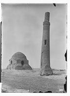 view Sang Bast (Iran): Arslan Jadhib Mausoleum and Minaret digital asset: Sang Bast (Iran): Arslan Jadhib Mausoleum and Minaret [graphic]