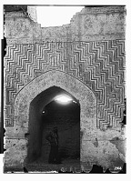 view Sang Bast (Iran): Arslan Jadhib Mausoleum and Minaret: Interior View of the Mausoleum's Central Chamber digital asset: Sang Bast (Iran): Arslan Jadhib Mausoleum and Minaret: Interior View of the Mausoleum's Central Chamber [graphic]