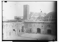 view Hama (Syria): Great Mosque, View of the Courtyard digital asset: Hama (Syria): Great Mosque, View of the Courtyard, [graphic]
