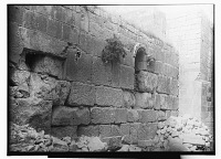 view Hama (Syria): Great Mosque, View of Exterior Fac̦ade digital asset: Hama (Syria): Great Mosque, View of Exterior Fac̦ade, [graphic]