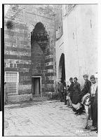 view Tripoli (Lebanon): Nasiriyya Madrasa: View of Entrance Portal with Muqarnas Ornamentation [graphic] digital asset number 1