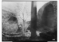 view Der'a (Syria): View of Unidentified Courtyard [graphic] digital asset number 1