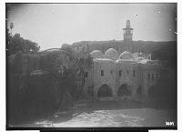 view Hama (Syria): Nur al-Din Mosque: View across the Orontes River digital asset: Hama (Syria): Nur al-Din Mosque: View across the Orontes River [graphic]