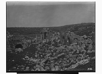 view Jerash (Lebanon): Unidentified Building: View of Ruins [graphic] digital asset number 1