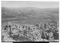 view Jerash (Lebanon): Unidentified Buildings: View of Ruins [graphic] digital asset number 1