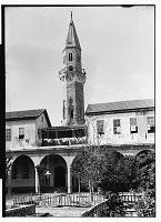 view Damascus (Syria): Manjaqiyya: View of Minaret digital asset: Damascus (Syria): Manjaqiyya: View of Minaret [graphic]