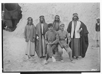 view Excavation of Kuh-e Khwaja (Iran): Ernst Herzfeld's Expedition Crew Members with Stone Altar digital asset: Excavation of Kuh-e Khwaja (Iran): Ernst Herzfeld's Expedition Crew Members with Stone Altar [graphic]