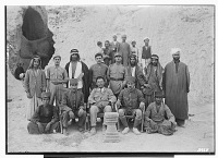view Excavation of Kuh-e Khwaja (Iran): Ernst Herzfeld's Expedition Crew Members, including Theodore Bartus, with Stone Altar digital asset: Excavation of Kuh-e Khwaja (Iran): Ernst Herzfeld's Expedition Crew Members, including Theodore Bartus, with Stone Altar [graphic]