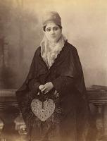 view Still Prints of Asia: Turkish Woman (standing), circa 1860-1870 digital asset number 1