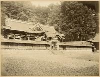 view Nikko: Karamon and Honsha at Toshogu Shrine digital asset: Nikko: Karamon and Honsha at Toshogu Shrine, [graphic]
