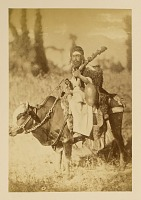 view Arpee Album: Photograph of a Dervish Riding a Cow [graphic] digital asset number 1