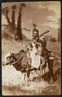 view Photograph of a Dervish Riding a Cow [graphic] digital asset number 1