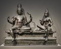view Shiva and Uma (<em>Somaskanda</em>) digital asset number 1