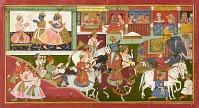 view Krishna bids farewell, folio from a <em>Bhagavata Purana</em> digital asset number 1