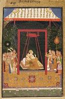 view Rao Ram Chandra of Bedla on a swing digital asset number 1