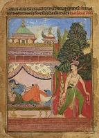 view Lalit Ragini, folio from a <em>Ragamala</em> digital asset number 1
