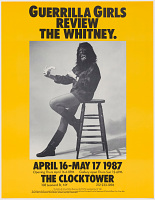 view Guerrilla Girls review the Whitney (from Portfolio Compleat: 1985-2012) digital asset number 1