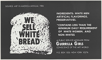 view We sell white bread (from Portfolio Compleat: 1985-2012) digital asset number 1