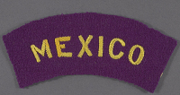 view Insignia, Shoulder, Mexican Air Force digital asset number 1