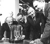 view Apollo 11 Flight, Lunar Samples, Smithsonian. [digital image] digital asset number 1