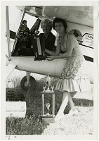 view 1961 Fort Myers, All Woman's International Air Race; Whyte, Edna Gardner; Wright, Martha. [photograph] digital asset number 1