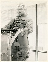 view Clothing, Space Suits, Apollo, Contractors, Hamilton Standard; Clothing, Space Suits, Apollo, Prototypes. [photograph] digital asset number 1