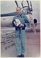 view Worden, Alfred Merrill; Northrop T-38 Talon Family. [photograph] digital asset number 1