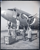 view Air Transport, Airlines, Mohawk Airlines (USA); Douglas DC-3 Family. [photograph] digital asset number 1