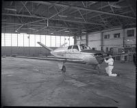 view Air Transport, Airlines, Mohawk Airlines (USA); Beech Bonanza 35. [photograph] digital asset number 1